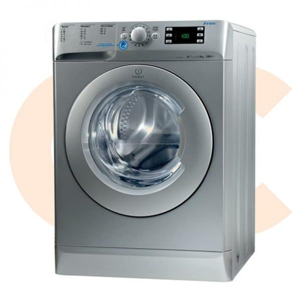 washing machine Indesit Silver 8 KG