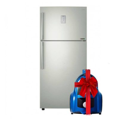 """Samsung Freestanding Digital Refrigerator With Twin Cooling 504L RT50K6300S8 + Samsung Canister Bagless Vacuum Cleaner, 1800 Watt, Blue - VCC4540S36/EGT """" gift """""""