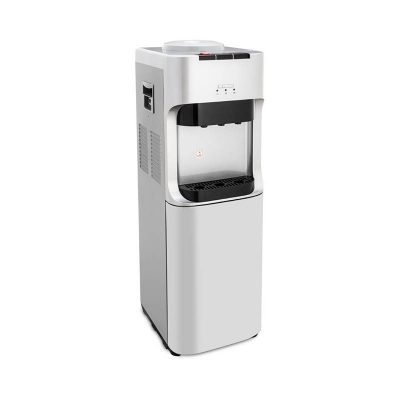 Fresh Hot & Cold Water Dispenser With Refrigerator, Silver – FW-16BRS