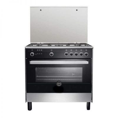 LA GERMANIA Freestanding Cooker 90 x 60 cm 5 Gas Burners In Stainless Steel Color 9M10GUB1X4AWW