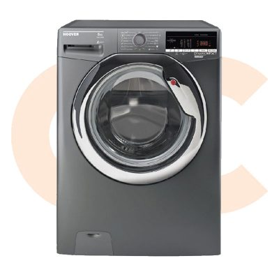 HOOVER Washing Machine Fully Automatic 8 Kg In Silver Color DXOA38AC3R-ELA