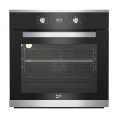 Beko Built-In Electric Oven With Grill, 65 Liters, Black BIM25300X