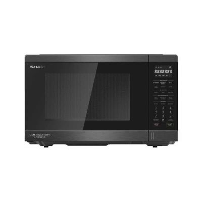 SHARP Microwave Convection Inverter 32 Litre, 1100 Watt In Black Color With Grill and 11 Cooking Menus R-32CNI-BS2