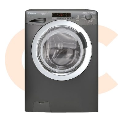 CANDY Washing Machine Fully Automatic 7 Kg in Silver Color - GVS107DC3R-ELA